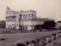Maharaja's Palace [or Khas Mahal] from South-East [Bharatpur]